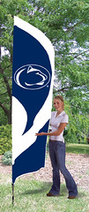 Penn State Tall Feather Flag