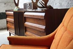 Striking Danish Modern Lane Walnut Dresser (Kennyk@k2modern.com) Tags: modern vintage walnut lane danish dresser