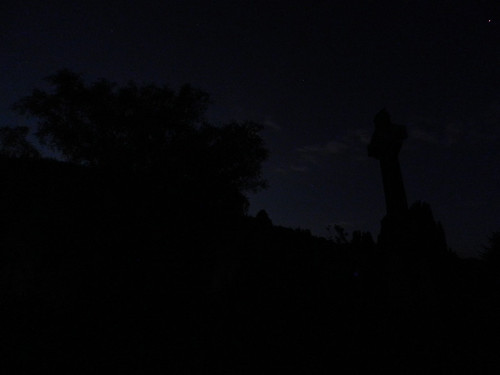 Extremely dark night trip to Glendalough