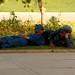 Policiais em ciesta depois do almoco