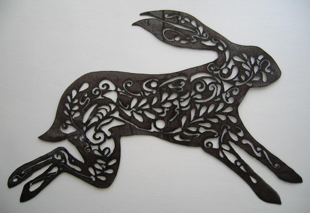 Metal hare 2