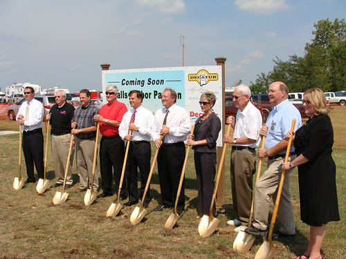 Ground Breaking - Pavilion - 9-17-10 017