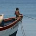 Sonhando em ser pescador