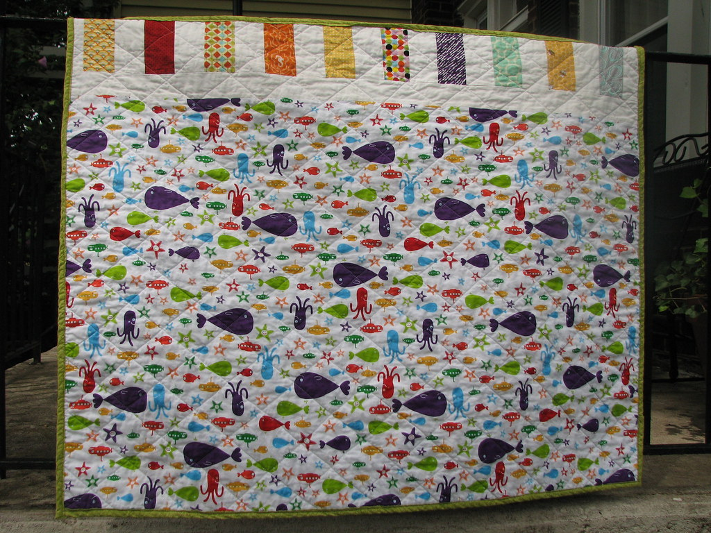 Baby Quilt - Back