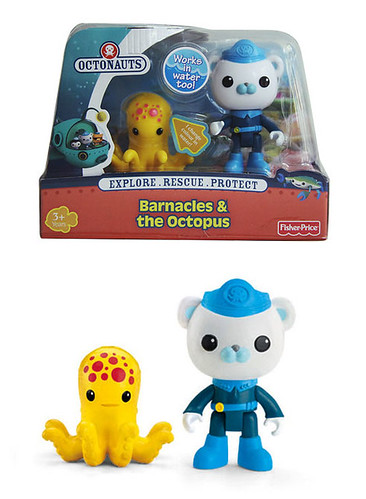 Octonauts toy set #1: Barnacles & the Octopus