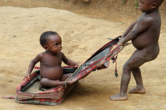 Pygmy Children (cowyeow) Tags: poverty africa boy people baby playing cute boys strange kids youth children kid interesting babies child play sweet african poor young culture adorable tribal angry hungry congo uganda tribe ethnic suitcase littleboy pulling indigenous pygmy malnutrition littleboys pygmies semliki semlikinationalpark