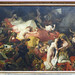 Delacroix, The Death of Sardanapalus with viewer