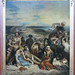 Delacroix, Scene of the massacre at Chios; Greek families awaiting death or slavery framed