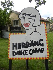 herrang Dance Camp 2011 sign