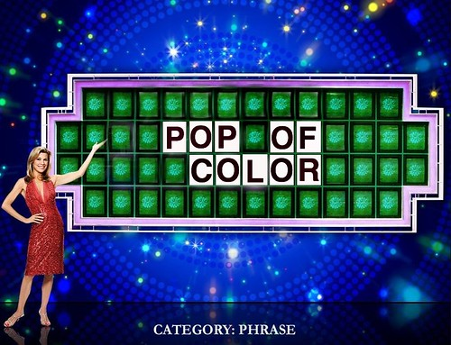Wheel of Fortune Pop of Color drollgirl