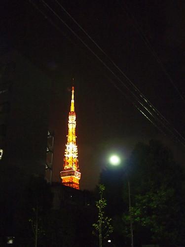 東京タワー 2009年クリスマスイブ