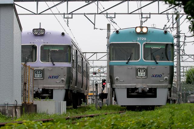 京王電鉄井の頭線3000系 3029F クハ3719