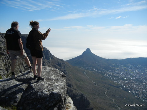 AWOL Tours hikes Table Mountain