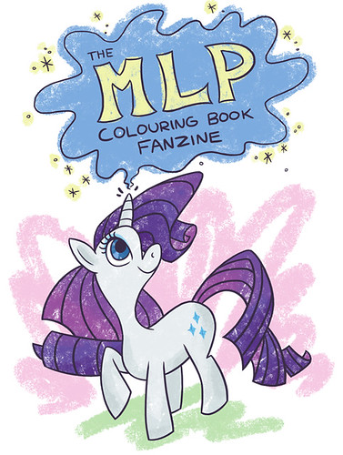 MLP Colouring book fanzine