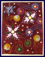 Page 13 de mon journal textile (angliquepatch) Tags: book fabric page