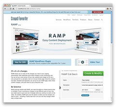 RAMP - Easy Content Deployment for WordPress