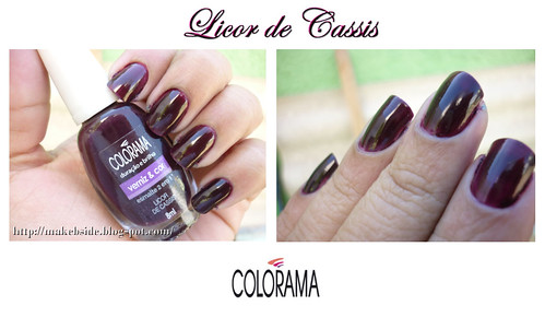 Licor de Cassis - Colorama