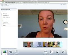 Live Streaming a Google Hangout on SteveGarfield.tv