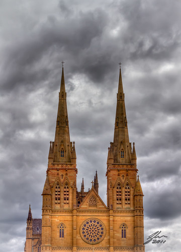 St Marys Cathedral by Glen Adamson