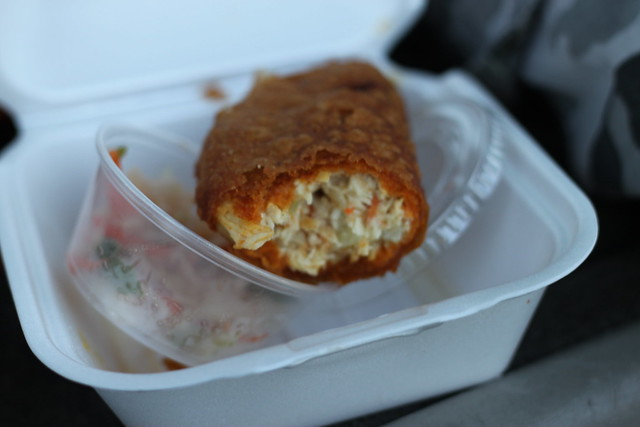 Chicken Pastelito from Vchos Truck