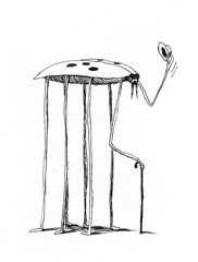 Franco Matticchio - Coccinella (laura@popdesign) Tags: illustration drawing ladybug matticchio
