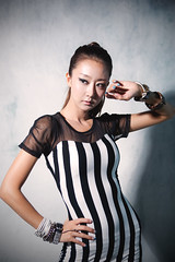 [Free Image] People, Women, Asian Women, Studio, Fashion, 201107282100
