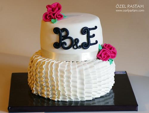 Beyza ve Enver'in Nişan Pastası