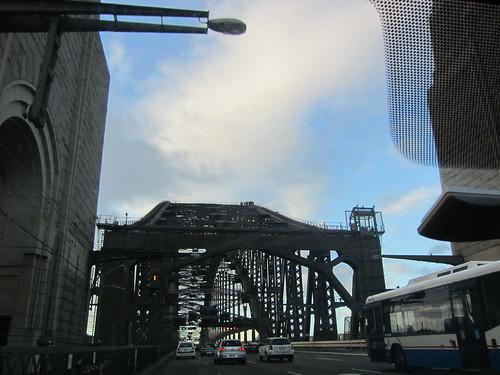 """Slight"" detour over the harbour bridge"