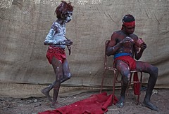 Mowanjum 2011 20117439 (ingetje tadros) Tags: people india art heritage festival community colours power faces transport australia mission outback cave teaching creator aboriginal elders kimberley stories derby motherearth rockart homeland indigenous corroborree spiritworld milkyway rainbowserpent dreamtime munja rediscover mowanjum wadjina ngarinyin thekimberly dreamingplace worora wotjulum complexcultures dreamtimesnake wunumbui wadjinatribes gyorngyornpeople babyspirits ungudbirthplace sacredlaws