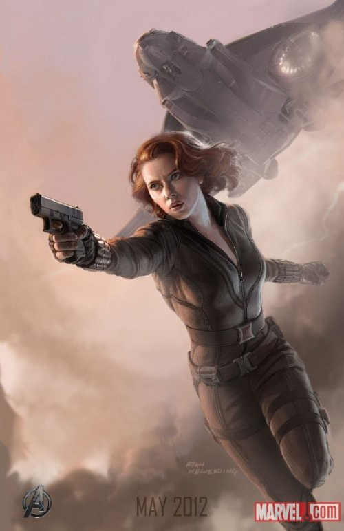 black_widow_avengers_painting