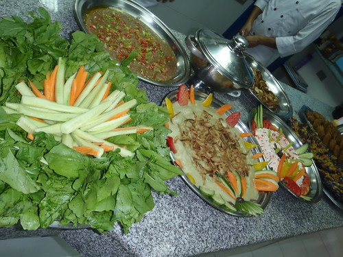 Egyptian food at ILI Welcome Party