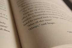 Always. (moochalegre) Tags: harrypotter snape