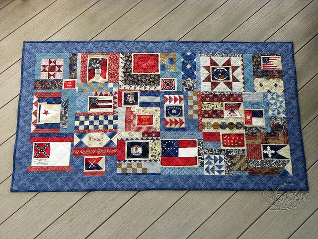 DSCN2106 Gettysburg Battle Flag quilt