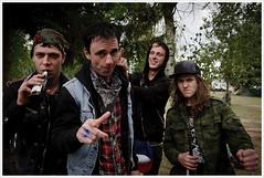 Punx trasher @ Fusion Festival (Libertinus) Tags: people youth punk raw leute gente punx fusion tamron jovenes 30d fusionfestival festivales trasher bogotrax roteplatz fusion2011