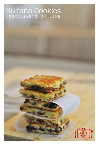 Sultana Cookies 3