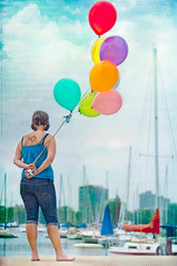 It's a beautiful day, don't let it get away! (pixelmama) Tags: texture girl tattoo skyline balloons u2 lakemichigan bono boardwalk sailboats montroseharbor happyhappyjoyjoy habor chicagoillinois beautifulday itsabeautifulday ofthesun dontletitgetaway eightballoons pixelmama june212011 jackiedesigneditherself shewantedthesuntoalwaysshineonher