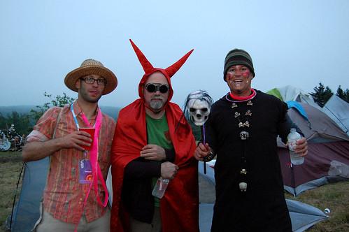 Saturday Night Costumes - Evolve Festival 2011