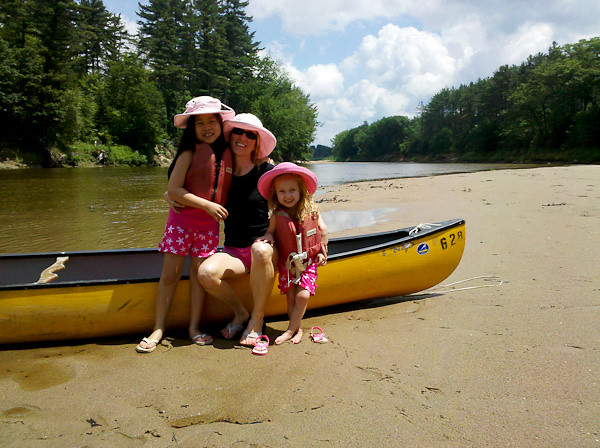 canoe pose with girls blog.jpg