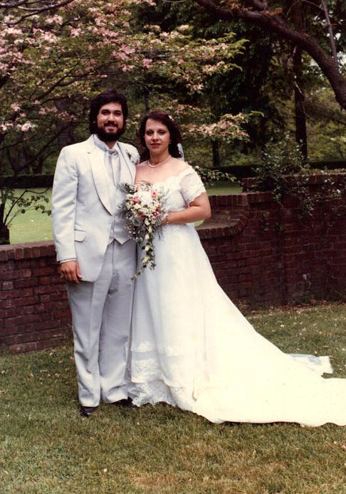 Mom & Dad Wedding Photo
