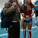 Mad Hatter and Wonder woman