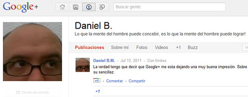 Google+ Perfil