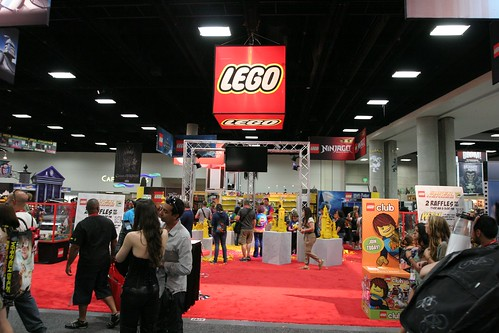 LEGO Booth - San Diego Comic Con