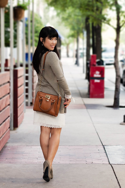 melie bianco madison purse banana republic long taupe cardigan loft field spots shell the limited eyelet skirt olive pumps forever 21 braided belt michael kors small runway mk5430
