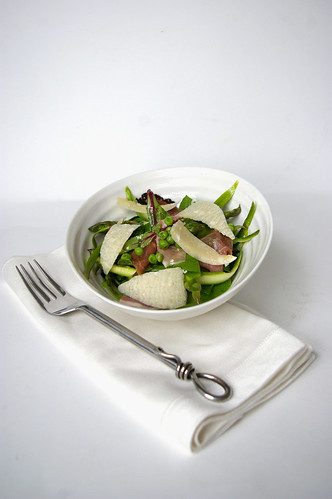 Asparagus and Pea Salad with Mint