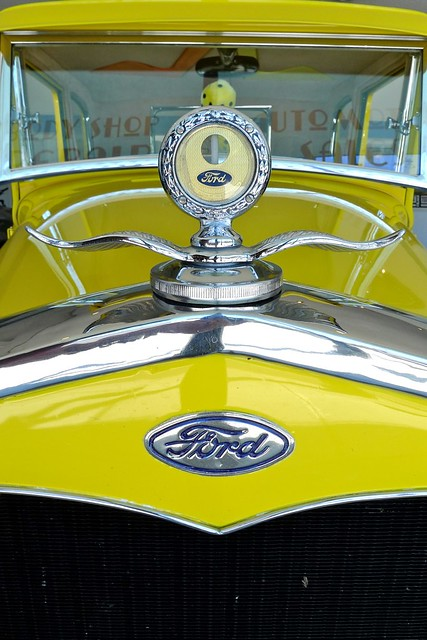 ford yellow