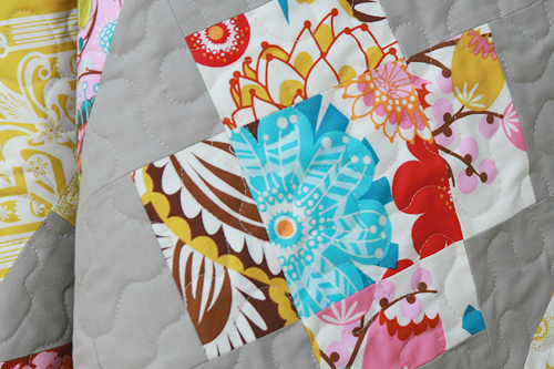 Loulouthi Crosses Quilting Detail