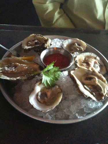 Oysters from the James River