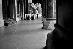 White linen table cloths and silver cutlery are only worth using when you have customers... (Luke-rative) Tags: streetphotography shortstory creativewriting wwwlukereynoldstumblrcom