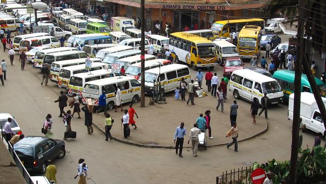 Nairobi Mini-bus Station