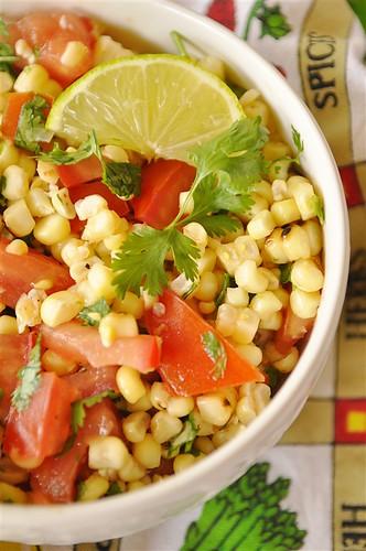 Roasted Corn Saslad